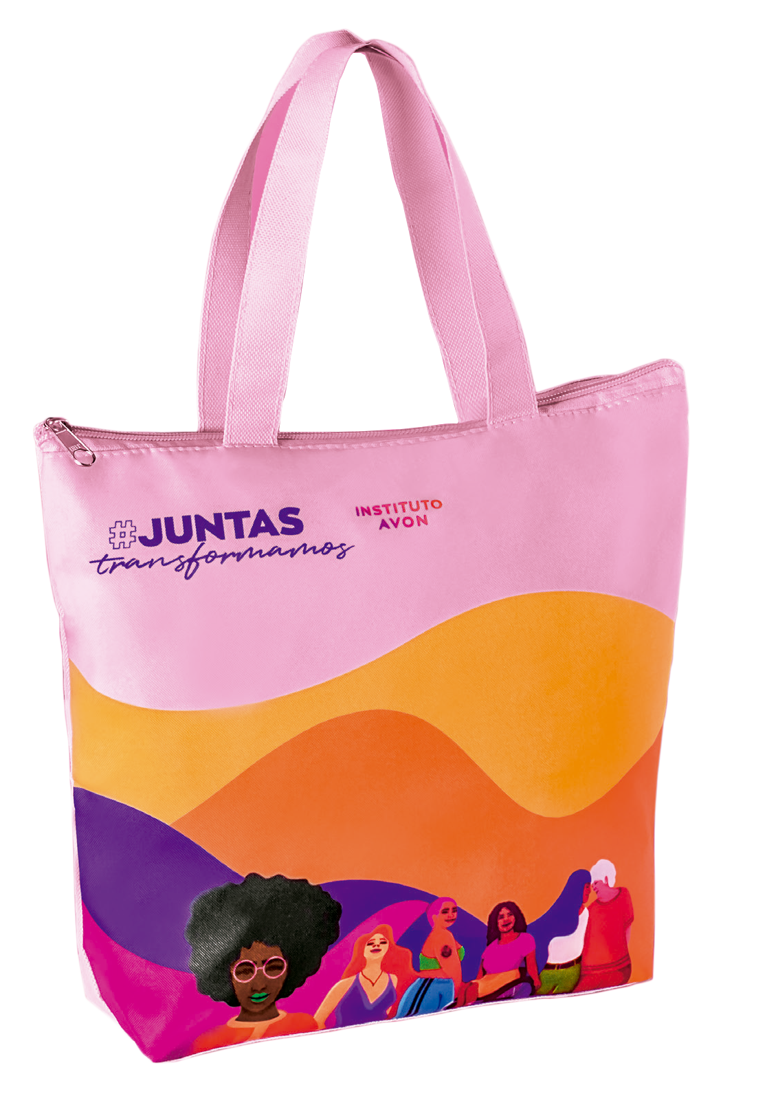 Lancheira #JuntasTransformamos